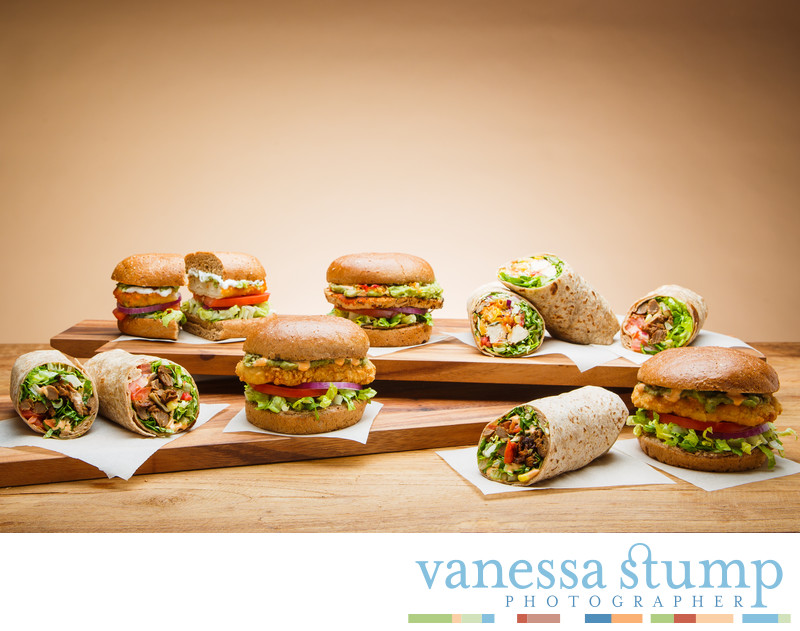 Veggie Grill Hot Sandwiches and Wraps
