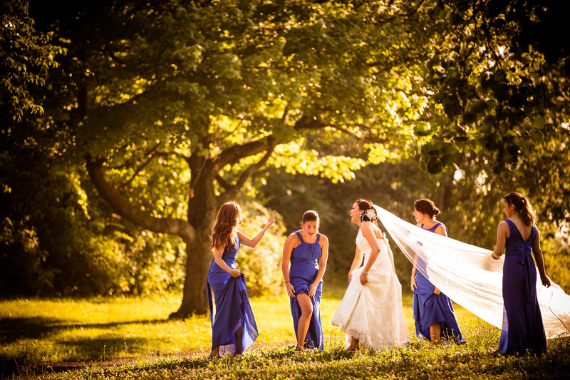 Queens, New York Wedding, Bridesmaids ,Great Light.