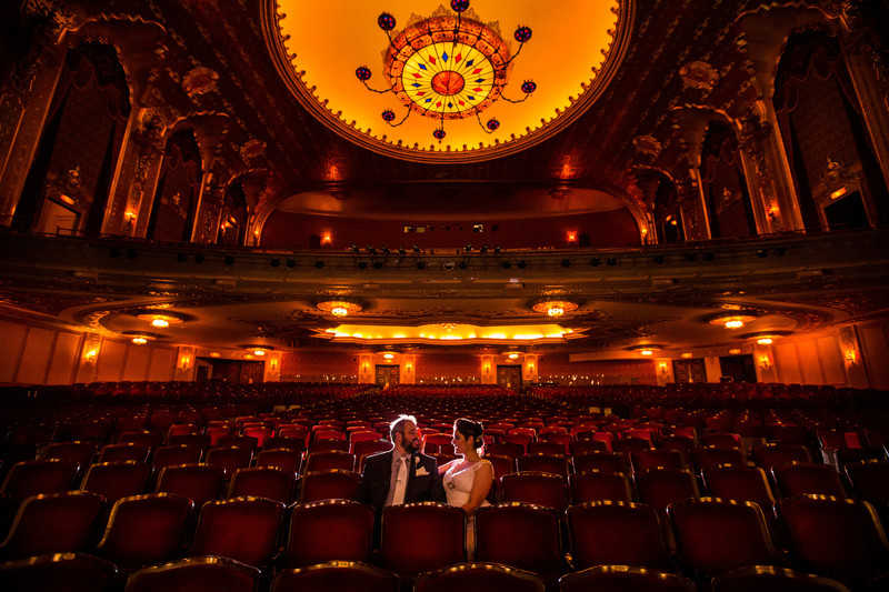 Stanley Theater in Utica, Upstate NY Theater Wedding