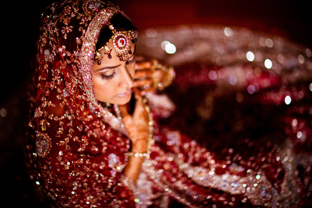 Elmhurst Queens New York Indian Wedding Portrait