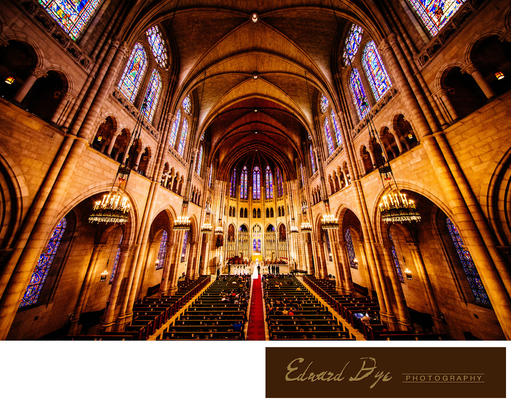 The Riverside Church in Manhattan, New York Wedding 2