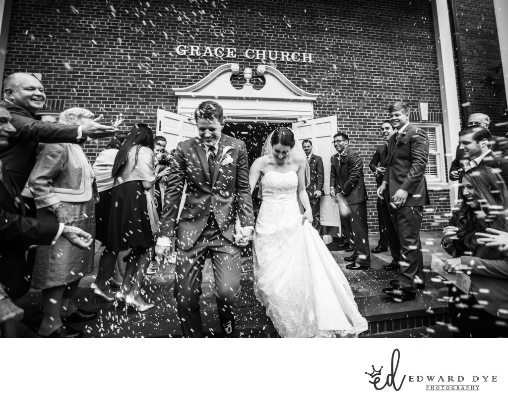 Grace Church, Ridgewood, New Jersey Wedding Photography