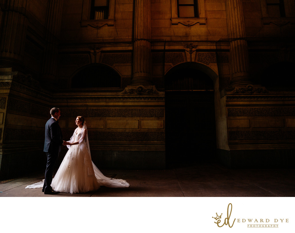 The Franklin Institute, Philadelphia Wedding Photography 1