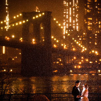 Brooklyn Bridge Park, Brooklyn, New York Wedding.