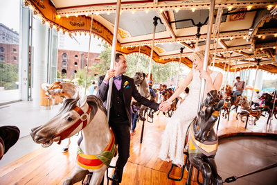 Jane's Carousel Brooklyn Bridge, New York Wedding