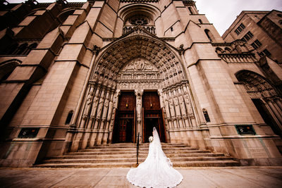 The Riverside Church in Manhattan, New York Wedding