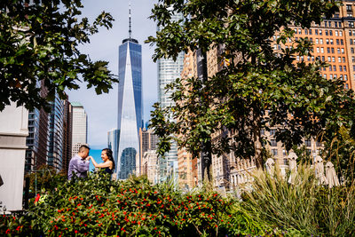 Battery Park New York Engagement
