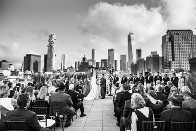 Tribeca Rooftop, New York City Wedding Photography