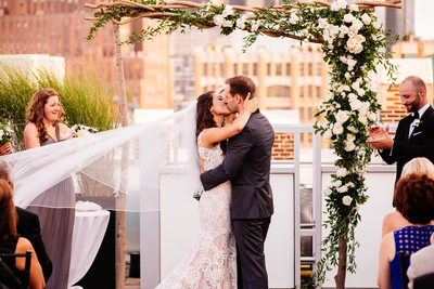Tribeca Rooftop, New York City Wedding Photography 2