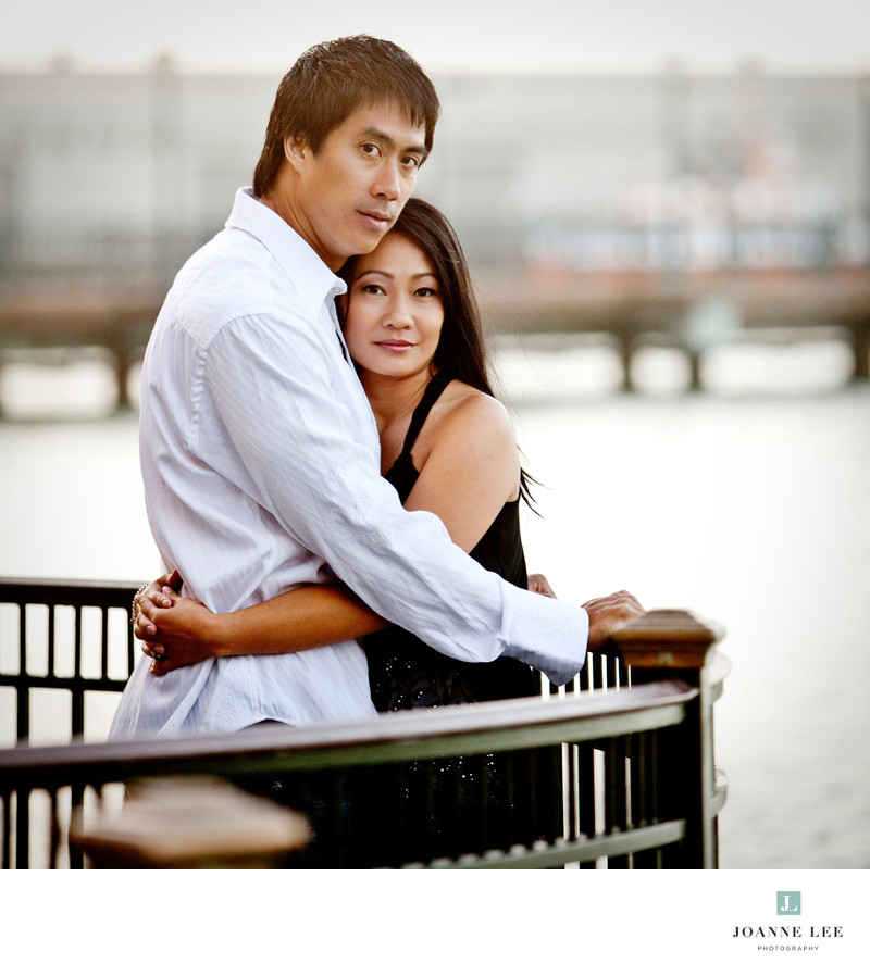 Pier 7 San Francisco engagement session
