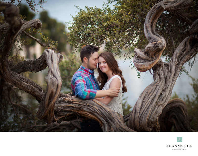 Lake Merritt Oakland engagement session