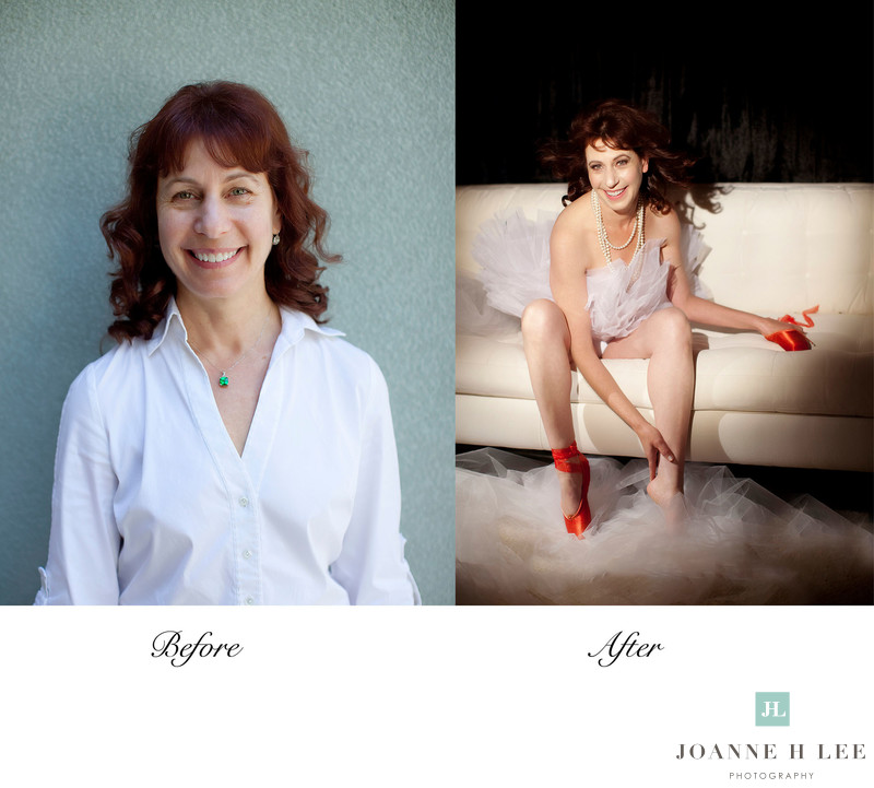 transformative boudoir photographer