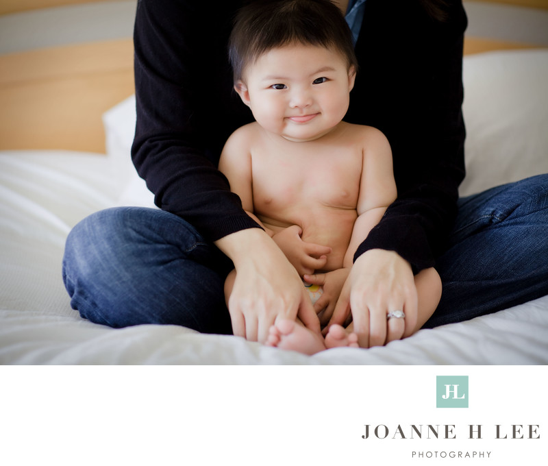 Milpitas on-location family session