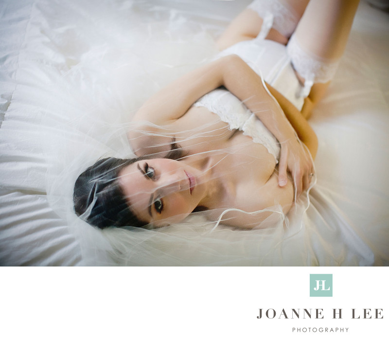 Bay Area bridal boudoir photography