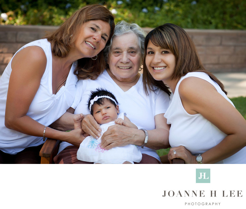San Jose four generations of women