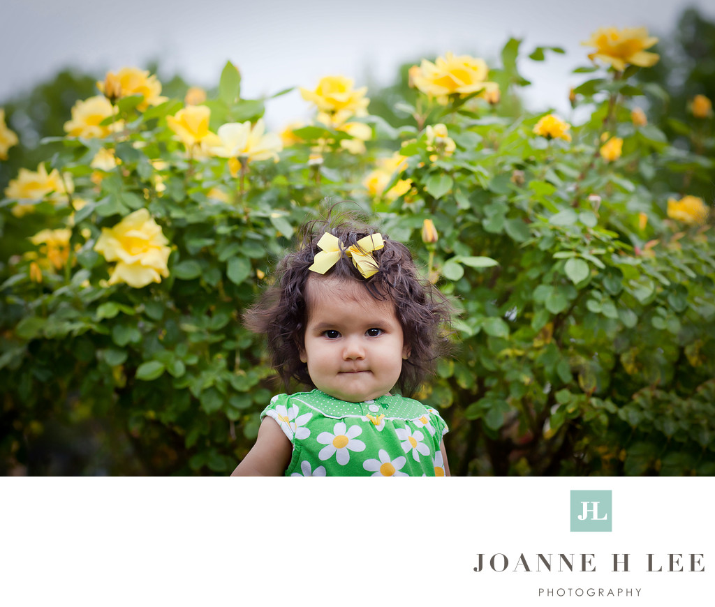 San Jose cute baby girl photo