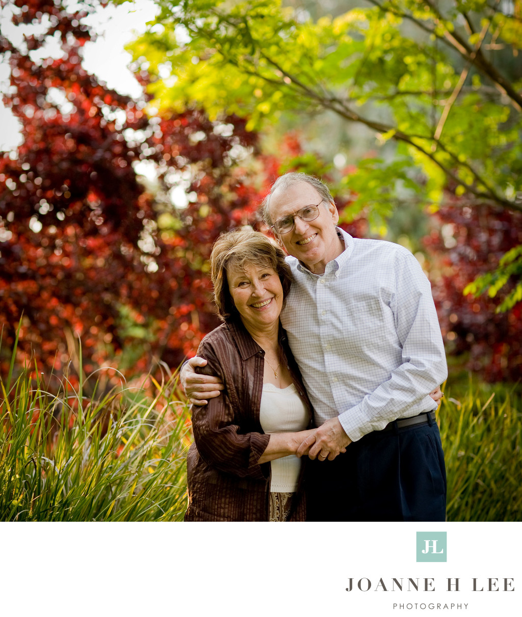 Los Altos grandparents portraits