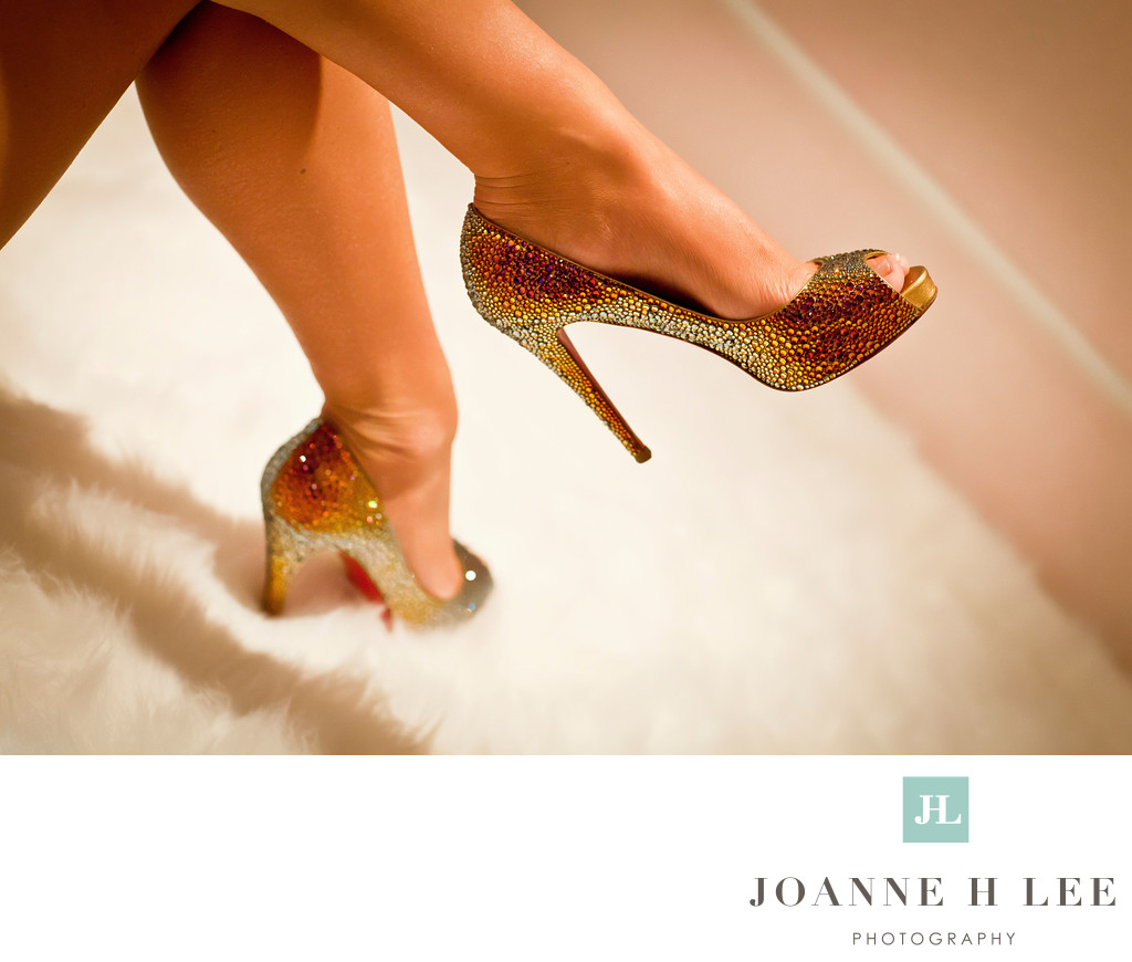 San Jose sexy shoes for boudoir photo shoot