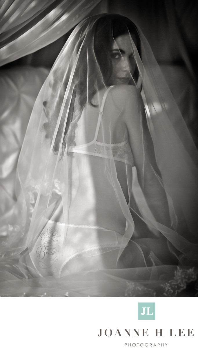 South Bay Bridal Boudoir photo