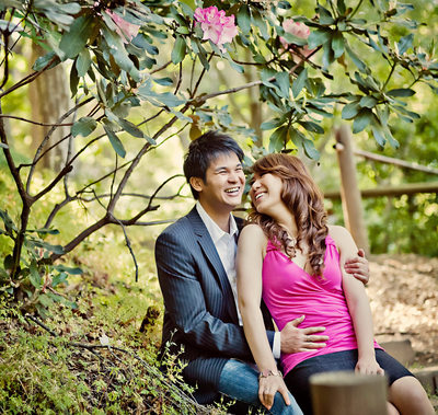 Hakone Gardens engagement session