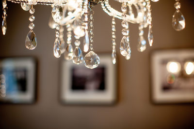 crystal chandelier at The French Boudoir®