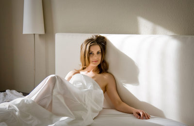 Silicon Valley classy boudoir photo