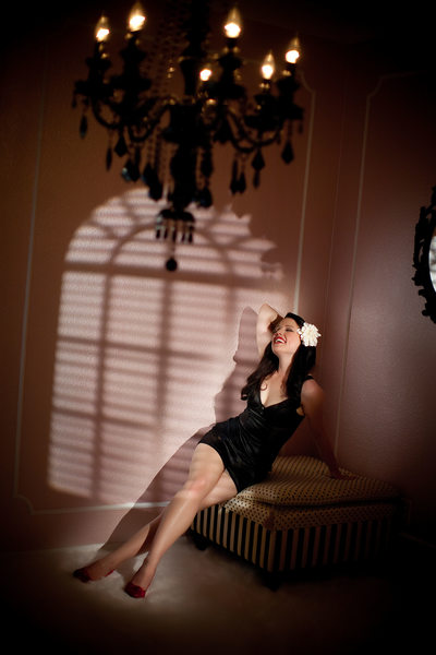 Silicon Valley Vintage style boudoir photo3