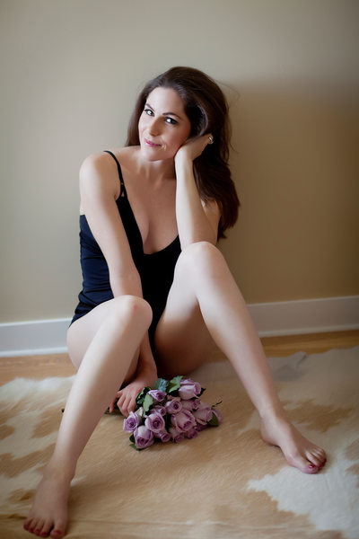 SF Bay Area on-location boudoir photo