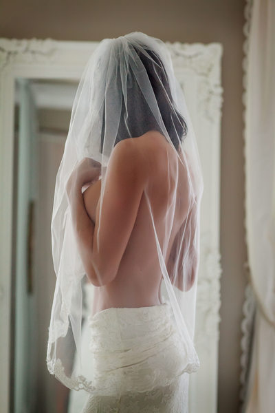 San Jose bridal boudoir photograph