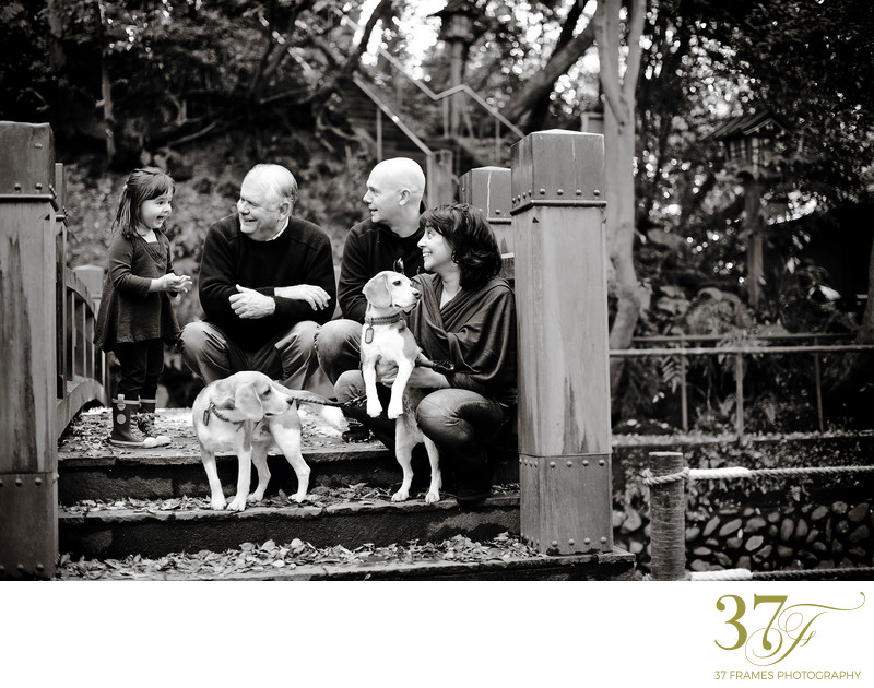 Black and white family photographers in Brisbane