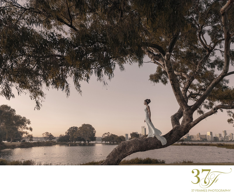 Perth Wedding Sunset Photography