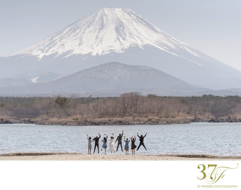 Mt Fuji Custom Wedding