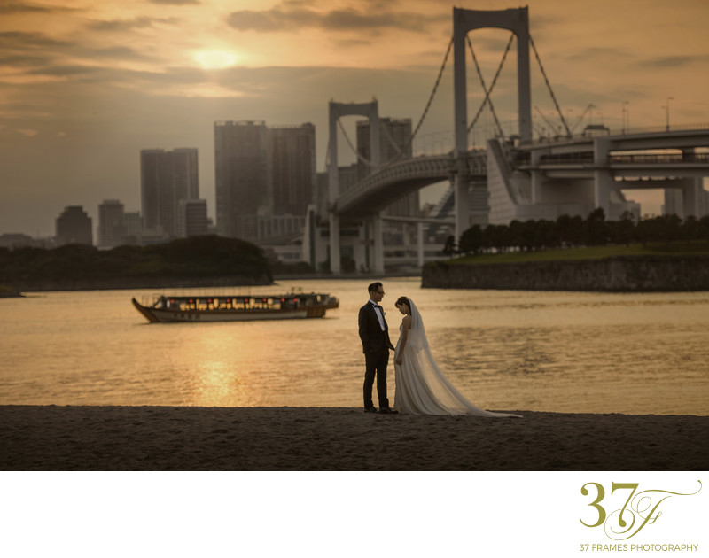 Best Odaiba Pre Wedding Photography