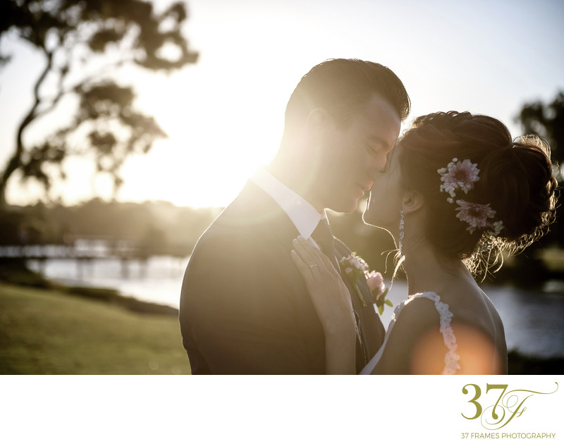 Best Sunset Wedding Photos Perth