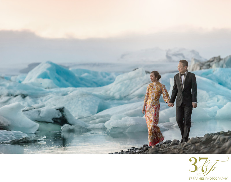 Chinese Pre-Wedding in Iceland