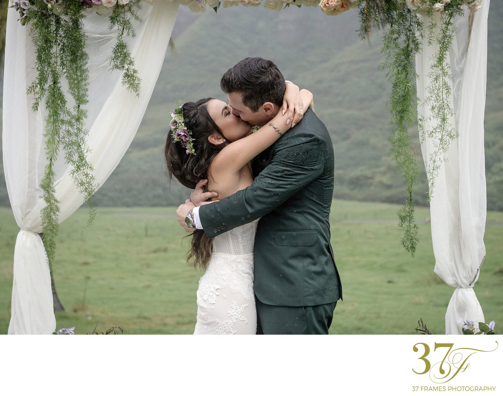 Janel Parrish Wedding at Kualoa Ranch
