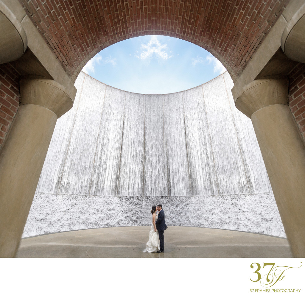Waterwall Park, Houston Wedding Photos