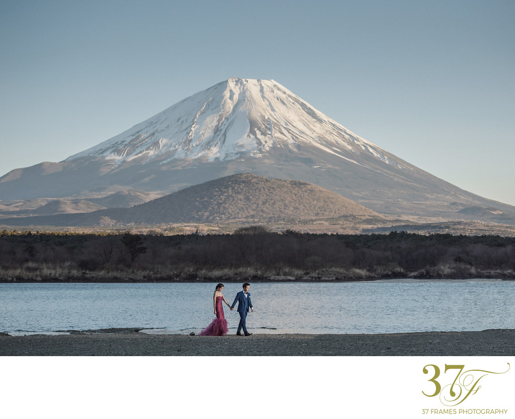 Elopement packages available for Mt Fuji