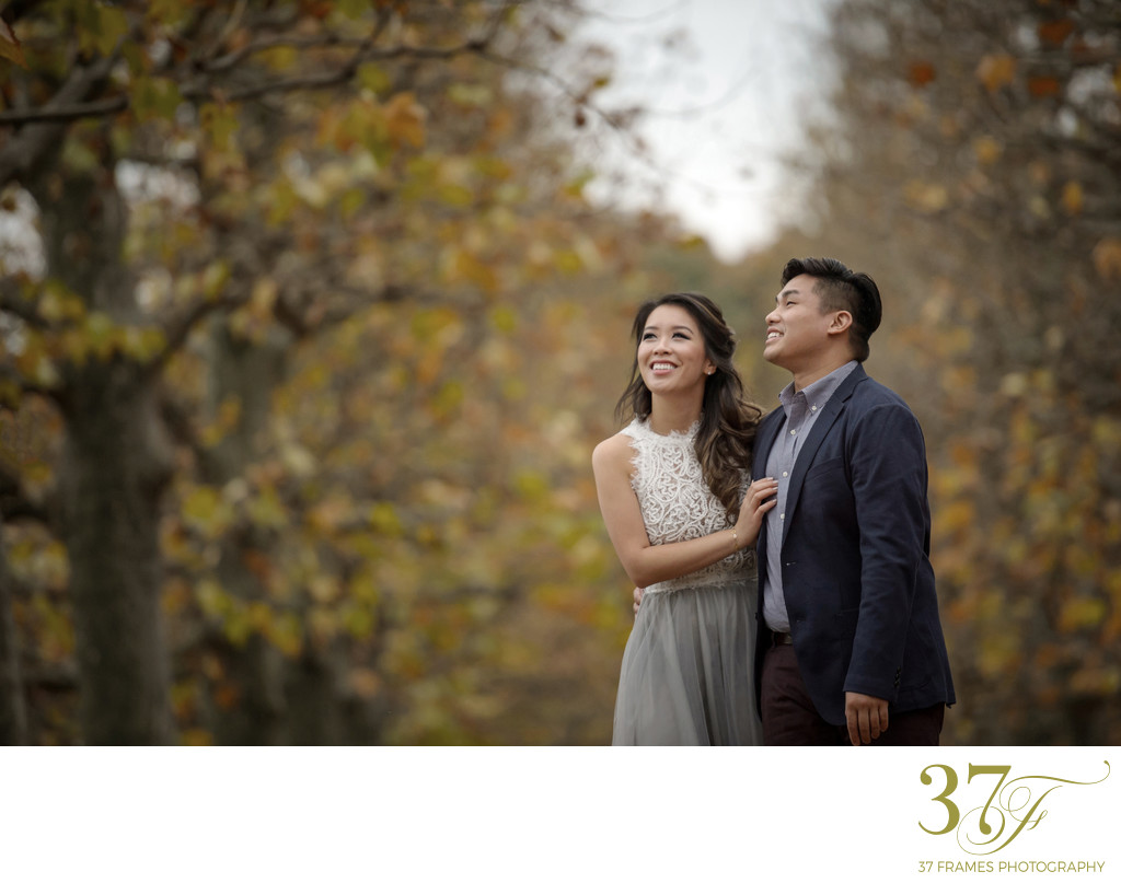 Couple Shoot in Yoyogi Park