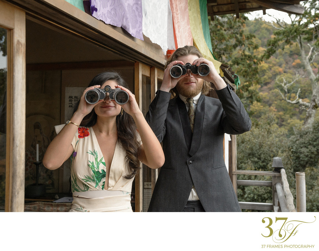 Fun Quirky Elopement Photography in Kyoto
