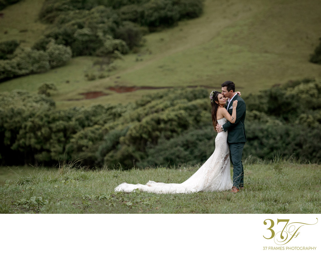 Celebrity Wedding at Kualoa Ranch