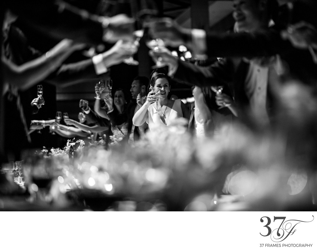 Wedding Party Toast | Park Hyatt Tokyo Photographer