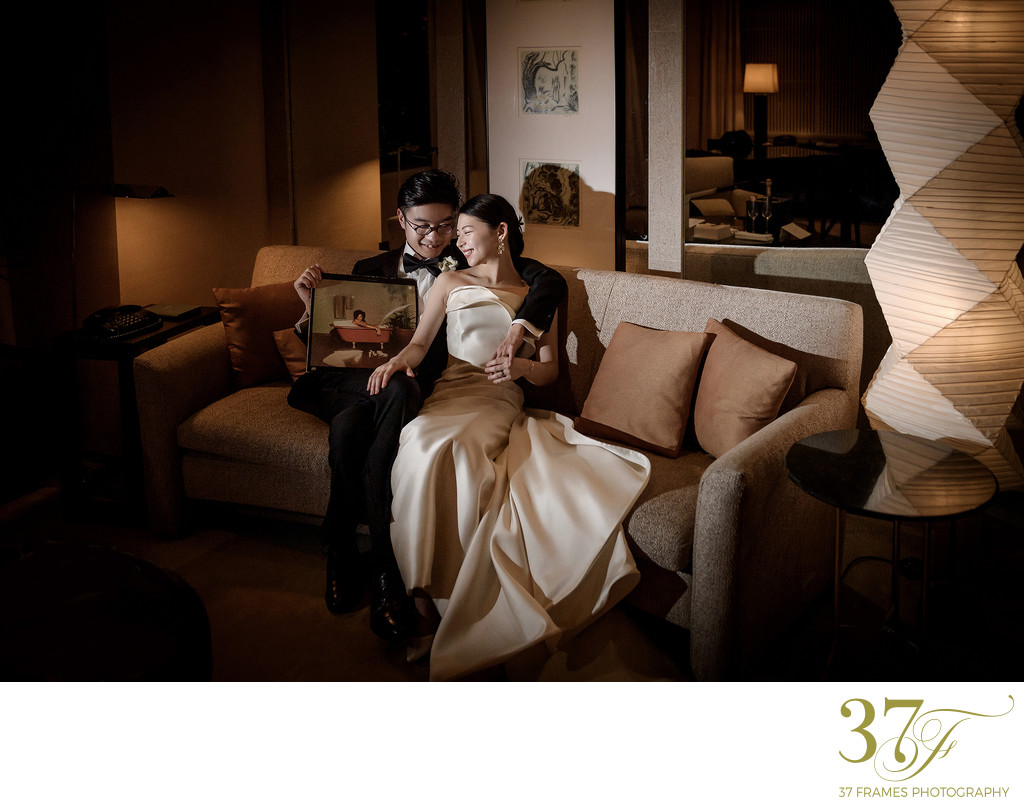 Park Hyatt Tokyo Wedding Photography | the Couple Suite