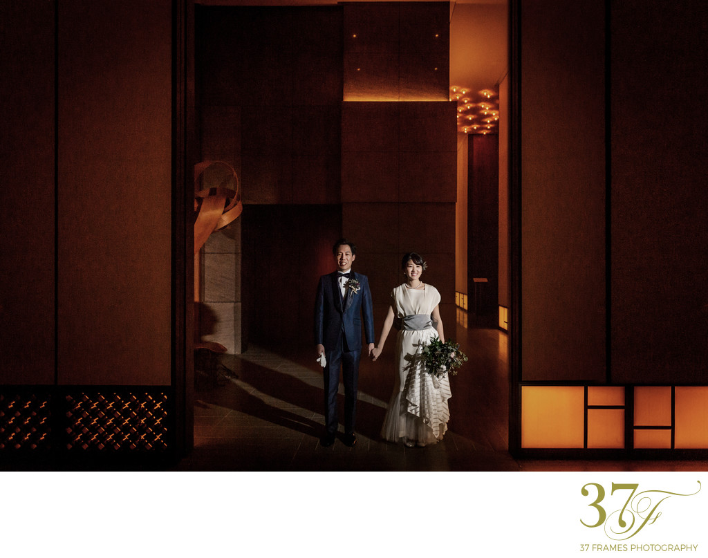 Totally Tokyo Bride & Groom | Andaz Wedding Photography