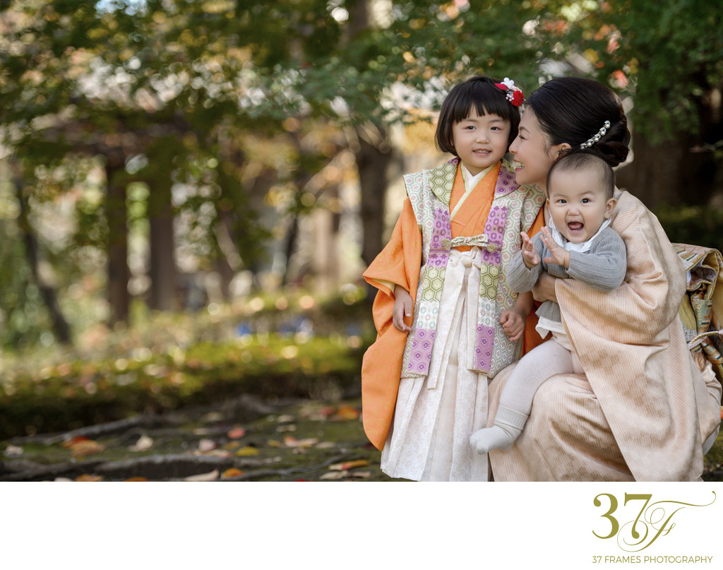 Beautiful Family Milestones | Shichi Go San Photography