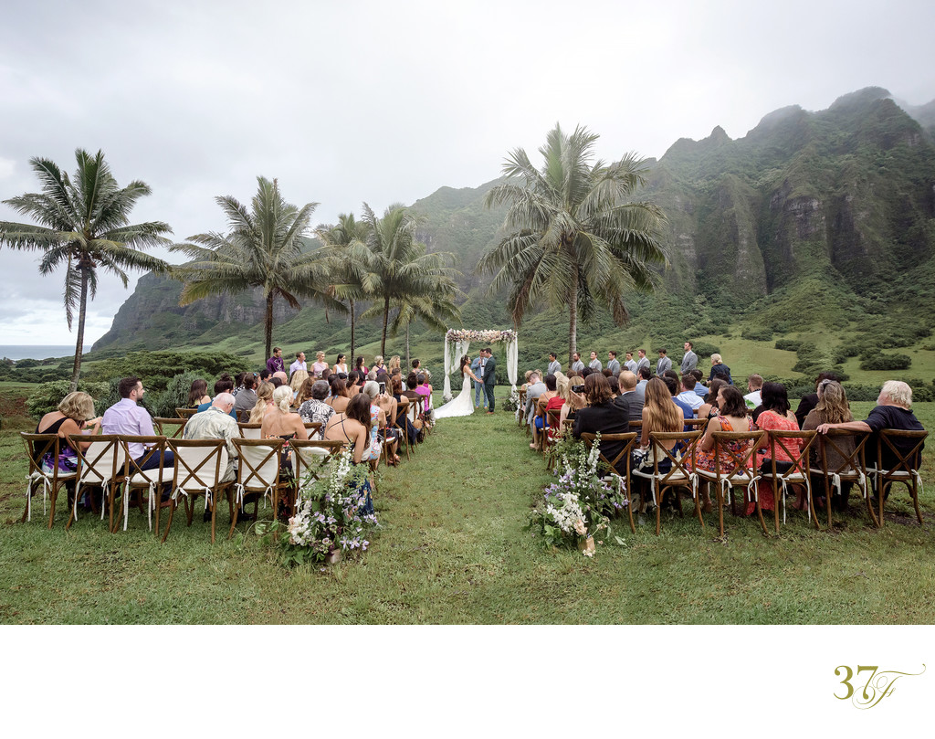 Destination Wedding at Kualoa Ranch