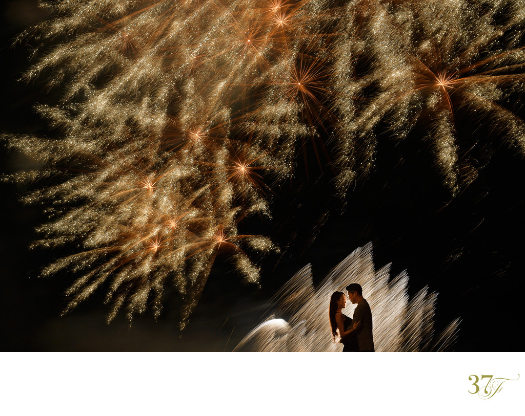 Summer Fireworks | Engagement Photographer Japan