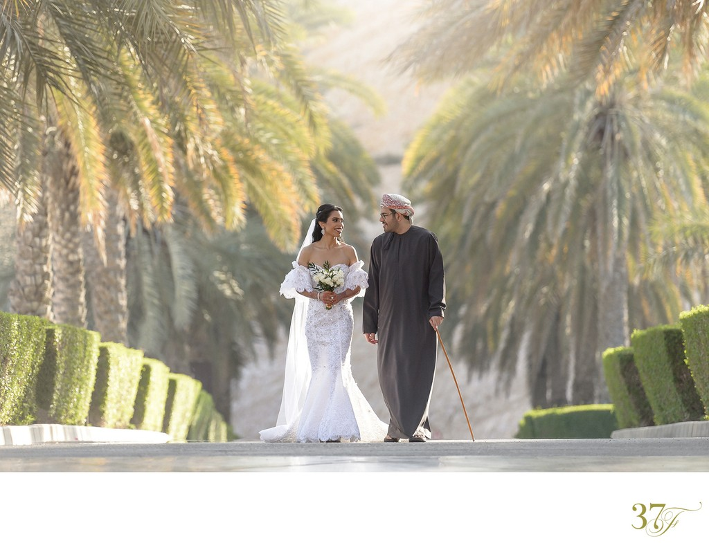 Royal Wedding at Shangri-La Al Husn Resort