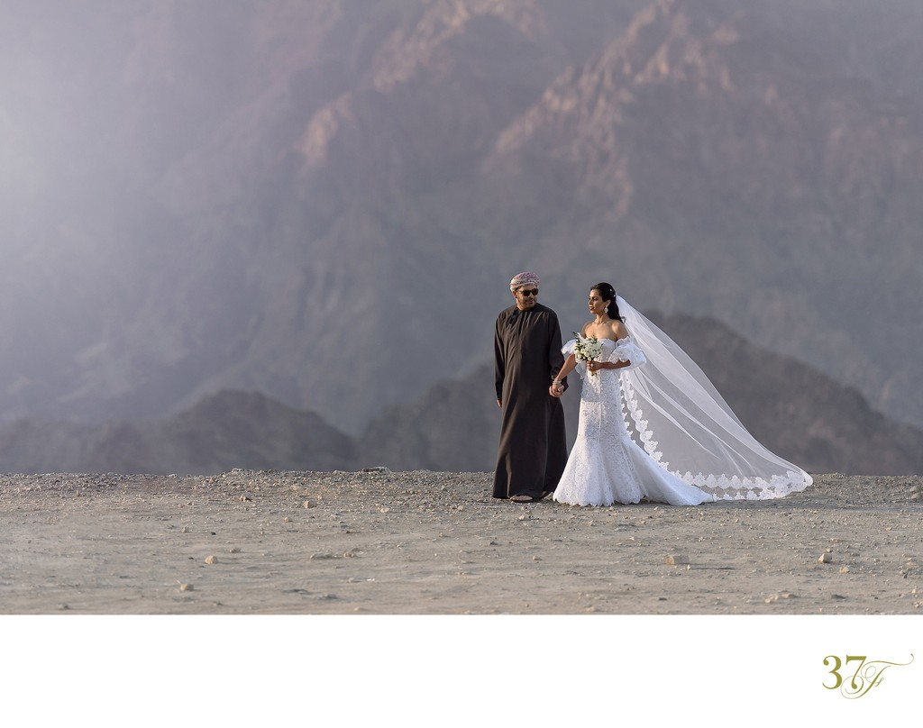Wedding photography in Oman