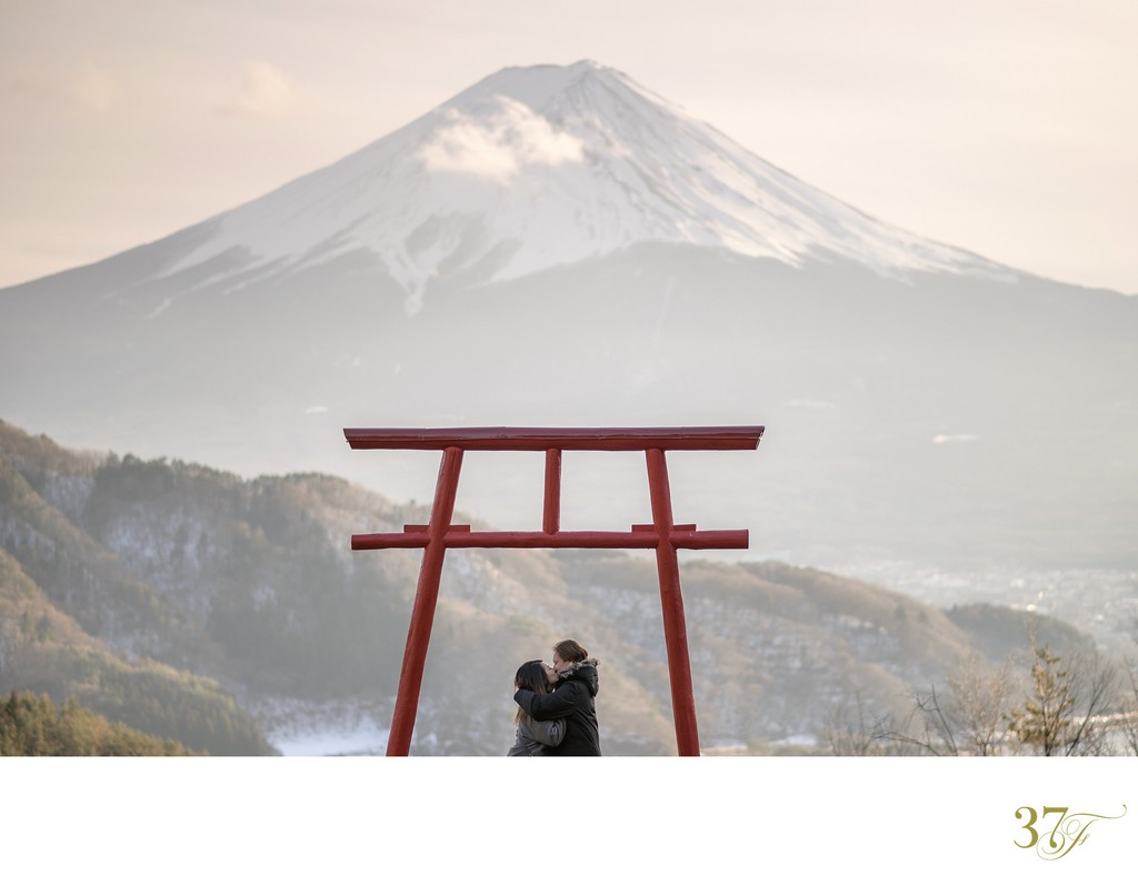 Elopement Wedding at Mt Fuji